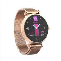 Női Smart Watch - Woman Okosóra R6 Intelligens értesítés, Alvás figyelés - Arany