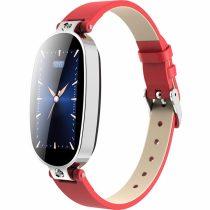 Női Okosóra Smart Watch Woman Edition RMPACK B79 Fitness, Értesítések, Pulzusmérés Piros/Ezüst