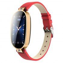 Női Okosóra Smart Watch Woman Edition RMPACK B79 Fitness, Értesítések, Pulzusmérés Piros/Arany