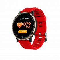 Okosóra Q20 Smart Watch - Intelligens értesítéssel, IP67 védelemmel, Alvás figyelő Piros