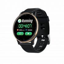 Okosóra Q20 Smart Watch - Intelligens értesítéssel, IP67 védelemmel, Alvás figyelő Fekete-Ezüst