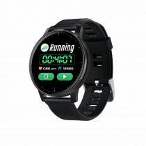 Okosóra Q20 Smart Watch - Intelligens értesítéssel, IP67 védelemmel, Alvás figyelő Fekete