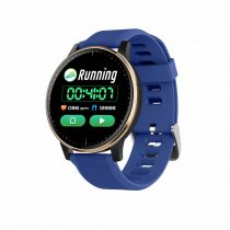 Okosóra Q20 Smart Watch - Intelligens értesítéssel, IP67 védelemmel, Alvás figyelő Kék