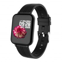 B57 Sport Óra Smart Watch - Fitness - Pulzusmérés - Kalória - Intelligens értesítések Fekete