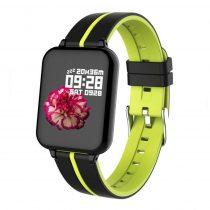 B57 Sport Óra Smart Watch - Fitness - Pulzusmérés - Kalória - Intelligens értesítések Fekete/Zöld