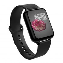 B57 Sport Óra Smart Watch - Fitness - Pulzusmérés - Kalória - Intelligens értesítések Solid Fekete
