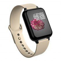 B57 Sport Óra Smart Watch - Fitness - Pulzusmérés - Kalória - Intelligens értesítések Solid Bézs