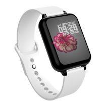 B57 Sport Óra Smart Watch - Fitness - Pulzusmérés - Kalória - Intelligens értesítések Solid Fehér