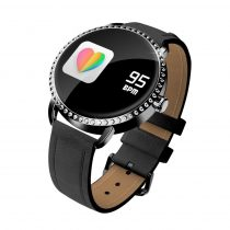 H7 Elegant Woman Smart Watch - Női Okosóra - Intelligens értesítési funkciókkal Fekete