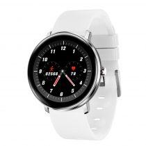 H11 Okosóra - Smart Watch IP67 védelemmel - Intelligens értesítés - Pulzusmérés Fehér