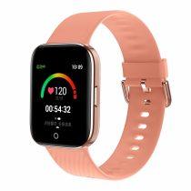 Fitness Tracker X2 Smart Watch - Okosóra - IP68, Android - IOS, Alvás-Séta-Futás Funciókkal Rózsaszín