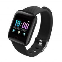 IP67 Smart Watch Okosóra D13 - Fitness Tracker - Intelligens értesítések Fekete
