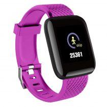 IP67 Smart Watch Okosóra D13 - Fitness Tracker - Intelligens értesítések Lila
