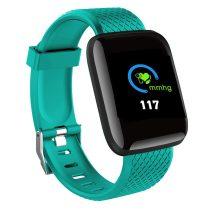 IP67 Smart Watch Okosóra D13 - Fitness Tracker - Intelligens értesítések Zöld