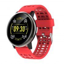 G30 Okosóra Smart Watch Health Monitoring rendszer - Intelligens értesítések - Vérnyomásmérés Fekete/Piros