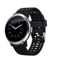 G30 Okosóra Smart Watch Health Monitoring rendszer - Intelligens értesítések - Vérnyomásmérés Ezüst/Fekete