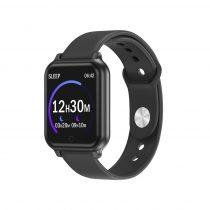 Okoskarkötő Smart Bracelet T70 Model IP67 - Health Monitoring - Pulzusméréssel Fekete