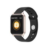 Okoskarkötő Smart Bracelet T70 Model IP67 - Health Monitoring - Pulzusméréssel Arany