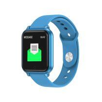 Okoskarkötő Smart Bracelet T70 Model IP67 - Health Monitoring - Pulzusméréssel Kék