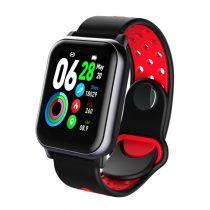 LEMONDA LKS11 Sport Okosóra Smart Watch - Health Monitoring, Intelligens értesítések, Sport funkciók Piros