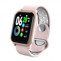 LEMONDA LKS11 Sport Okosóra Smart Watch - Health Monitoring, Intelligens értesítések, Sport funkciók Rózsaszín
