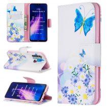 RMPACK Xiaomi Redmi Note 8 Bankkártyatartóval Notesz Mintás Kitámasztható PinkSeries PS05
