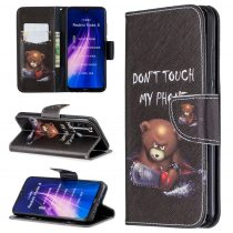 RMPACK Xiaomi Redmi Note 8 Bankkártyatartóval Notesz Mintás Kitámasztható PinkSeries PS09