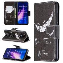 RMPACK Xiaomi Redmi Note 8 Bankkártyatartóval Notesz Mintás Kitámasztható PinkSeries PS10