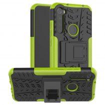 RMPACK Xiaomi Redmi Note 8T Ütésálló Tok Kitámasztható 2in1 Hybrid Zöld
