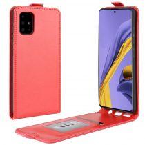 RMPACK Samsung Galaxy A51 Flip Tok Mágneses Piros