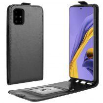 RMPACK Samsung Galaxy A51 Flip Tok Mágneses Fekete