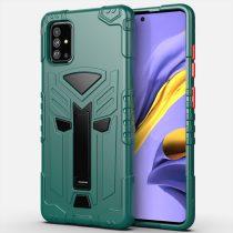 RMPACK Samsung Galaxy A51 Ütésálló Tok KingKong Edition Hybrid Zöld