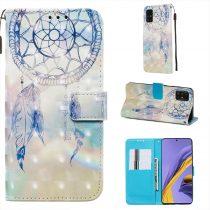 RMPACK Samsung Galaxy A51 Tok Bankkártyatartóval Notesz Mintás Kitámasztható -RMPACK- Life&Dreams LD02