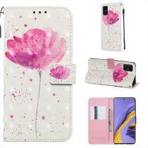 RMPACK Samsung Galaxy A51 Tok Bankkártyatartóval Notesz Mintás Kitámasztható -RMPACK- Life&Dreams LD03