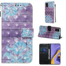 RMPACK Samsung Galaxy A51 Tok Bankkártyatartóval Notesz Mintás Kitámasztható -RMPACK- Life&Dreams LD05