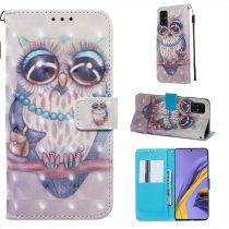 RMPACK Samsung Galaxy A51 Tok Bankkártyatartóval Notesz Mintás Kitámasztható -RMPACK- Life&Dreams LD06