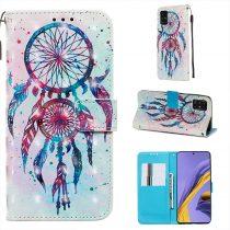 RMPACK Samsung Galaxy A51 Tok Bankkártyatartóval Notesz Mintás Kitámasztható -RMPACK- Life&Dreams LD07