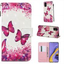 RMPACK Samsung Galaxy A51 Tok Bankkártyatartóval Notesz Mintás Kitámasztható -RMPACK- Life&Dreams LD08