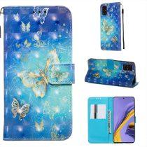 RMPACK Samsung Galaxy A51 Tok Bankkártyatartóval Notesz Mintás Kitámasztható -RMPACK- Life&Dreams LD11