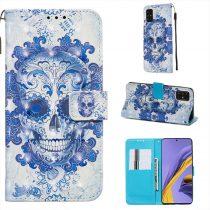 RMPACK Samsung Galaxy A51 Tok Bankkártyatartóval Notesz Mintás Kitámasztható -RMPACK- Life&Dreams LD12