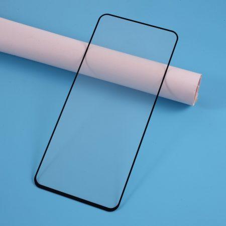 Samsung Galaxy A51 Kijelzővédő Üveg - Tempered Glass -FULL 3D- Fekete