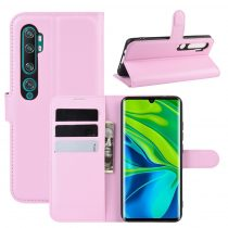 RMPACK Xiaomi Mi Note 10 / Mi Note 10 Pro Notesz Tok Business Series Kitámasztható Bankkártyatartóval Rózsaszín