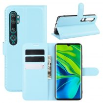 RMPACK Xiaomi Mi Note 10 / Mi Note 10 Pro Notesz Tok Business Series Kitámasztható Bankkártyatartóval Világoskék