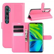RMPACK Xiaomi Mi Note 10 / Mi Note 10 Pro Notesz Tok Business Series Kitámasztható Bankkártyatartóval Pink