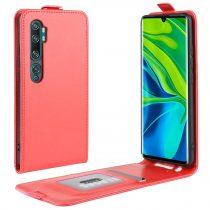 RMPACK Xiaomi Mi Note 10 / Mi Note 10 Pro Flip Tok Mágneses Piros