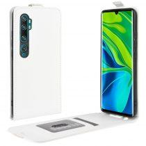 RMPACK Xiaomi Mi Note 10 / Mi Note 10 Pro Flip Tok Mágneses Fehér
