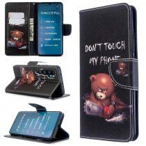 RMPACK Xiaomi Mi Note 10 / Mi Note 10 Pro Tok Bankkártyatartóval Notesz Mintás Kitámasztható Dream Series DS08