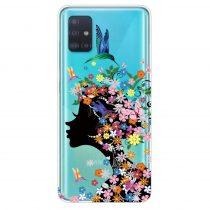 RMPACK Samsung Galaxy A71 Szilikon Tok Mintás TPU DreamLifeSeries DLS07