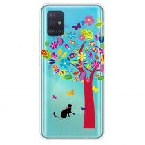 RMPACK Samsung Galaxy A71 Szilikon Tok Mintás TPU DreamLifeSeries DLS14