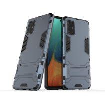 RMPACK Samsung Galaxy A71 2in1 Tok Ütésálló - Kitámasztható TPU Hybrid Kék